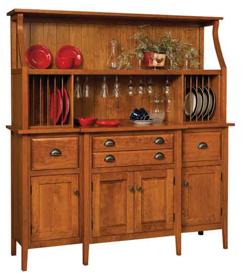 Amish Stowell China Cabinet